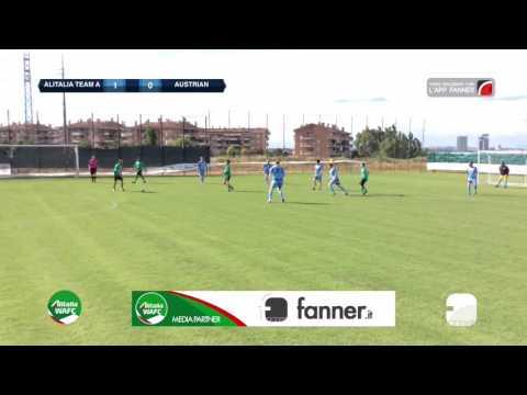 Alitalia Team A 3-0 Austrian | Alitalia WAFC - Gruppo A | Highlights