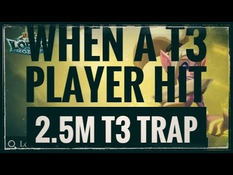 When A T3 Player Hit 2.5M T3 Trap : Lords Mobile