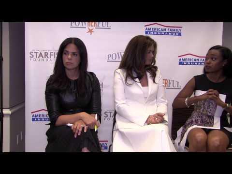 PowHERful HANGOUT2014 w/ Soledad O'Brien, Kathy Ireland & Tatyana Ali