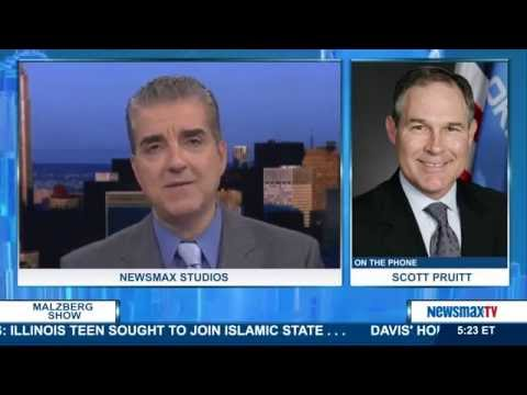 Malzberg | Scott Pruitt attorney general for the state of Oklahoma