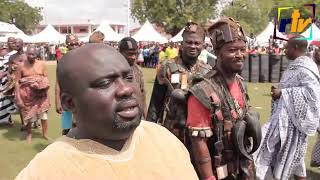 OTUMFUO OSEI TUTU II CELEBRATE 20th ANNIVERSARY WITH OVER 250 gods at MENHYIA