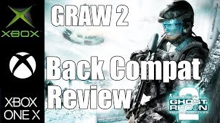 Back Compat Review: Ghost Recon Advanced Warfighter 2 (on Xbox One X)