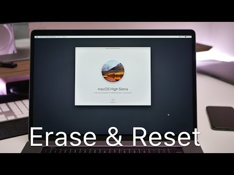 How to clear apple mac air 13 inch
