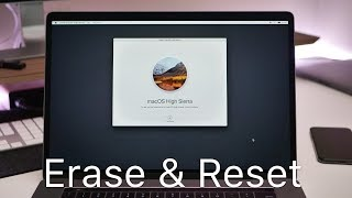 How To Erase aฑd Reset a Mac back to factory default