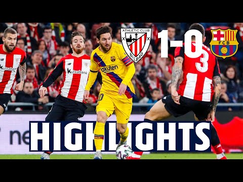 HIGHLIGHTS | Athletic de Bilbao 1 - FC Barcelona 0