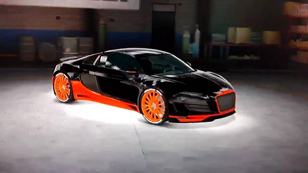 midnight club los angeles - bugatti veyron 16.4 grand sport audi