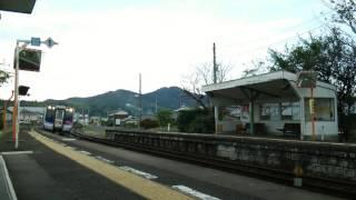 JR四国 高徳線 N2000系 特急うずしお号 徳島ゆき 造田通過