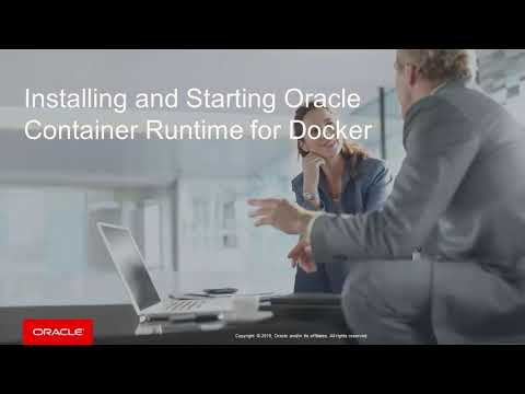 Oracle Container Runtime for Docker Installation