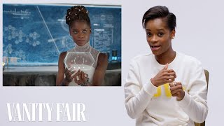 Black Panther's Letitia Wright Breaks Down Wakandan Technology | Vanity Fair