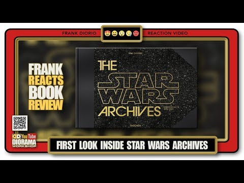 FIRST LOOK INSIDE - TASCHEN's THE STAR WARS ARCHIVES - FRANK REACTS BOOK REVIEW