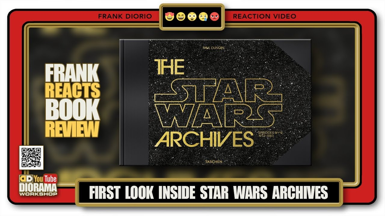 First Look Inside Taschen S The Star Wars Archives Frank Reacts Book Review Youtube