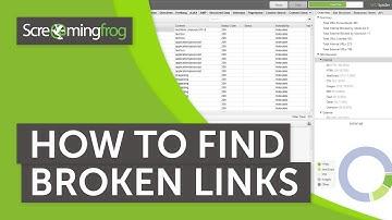 How To Find Broken Links