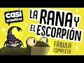 Gambar cover La Rana y el Escorpión Fábula Completa | Casi Creativo