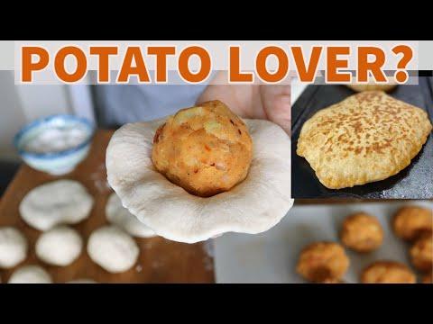 POTATO LOVER? Come Closer 😍🥔 Velibah / Turkish Aloo Paratha