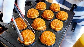 Подборка популярных закусок на корейском рынке - корейская уличная еда