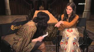 Repeat youtube video Reign Rapid Fire: Caitlin Stasey