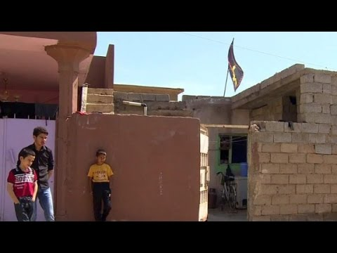 Iraqi town suffering from ISIS chemical attack