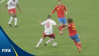 When mighty Spain were felled