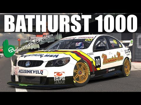iRacing - Bathurst 1000 With SouthPawRacer