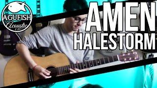 Halestorm - Amen | Acoustic Instrumental Cover
