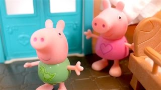 Peppa Pig toys. Videos for kids.