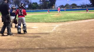 Adrian Mercier 4/1/14 BP National Little League Strikeout King