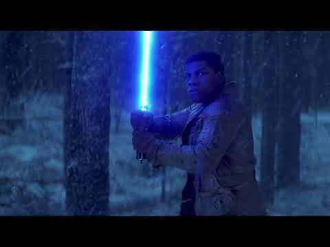 Star Wars: The Force Awakens - Finn Lightsaber Custom Sound Effect