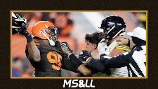 Myles Garrett vs. Mason Rudolph, Who is Right? - MS&LL 2/17/20