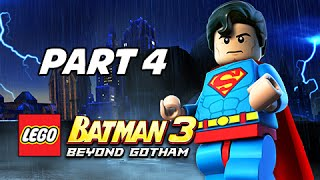 Lego Batman 3 Beyond Gotham Walkthrough Part 4 - Space Station Infestation (Let's Play Commentary)