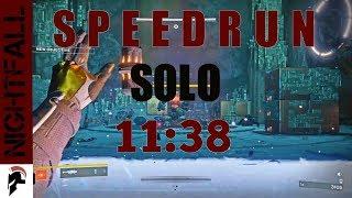 Destiny 2 - Solo Nightfall Speedrun (11:38) - Tree of Probabilities - Sunbreaker