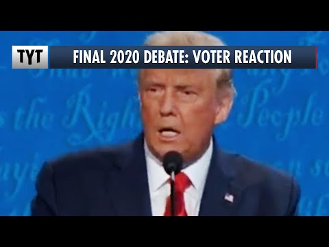 Final 2020 Presidential Debate: Voter Reaction