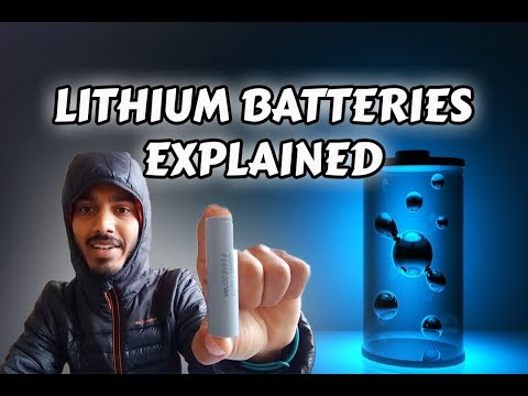 Lithium batteries:18650 cell (intro in hindi)