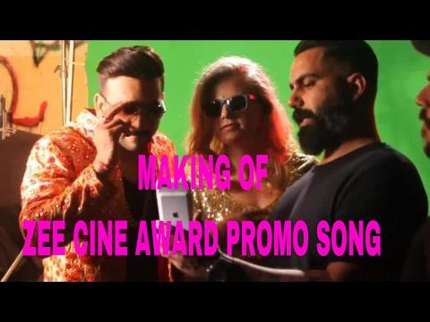 Making of zee cine award 2017Promo song fazilPuria / Rossh