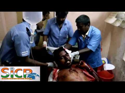 attack on Hindu Munnani district executive committee member Sankar Ganesh