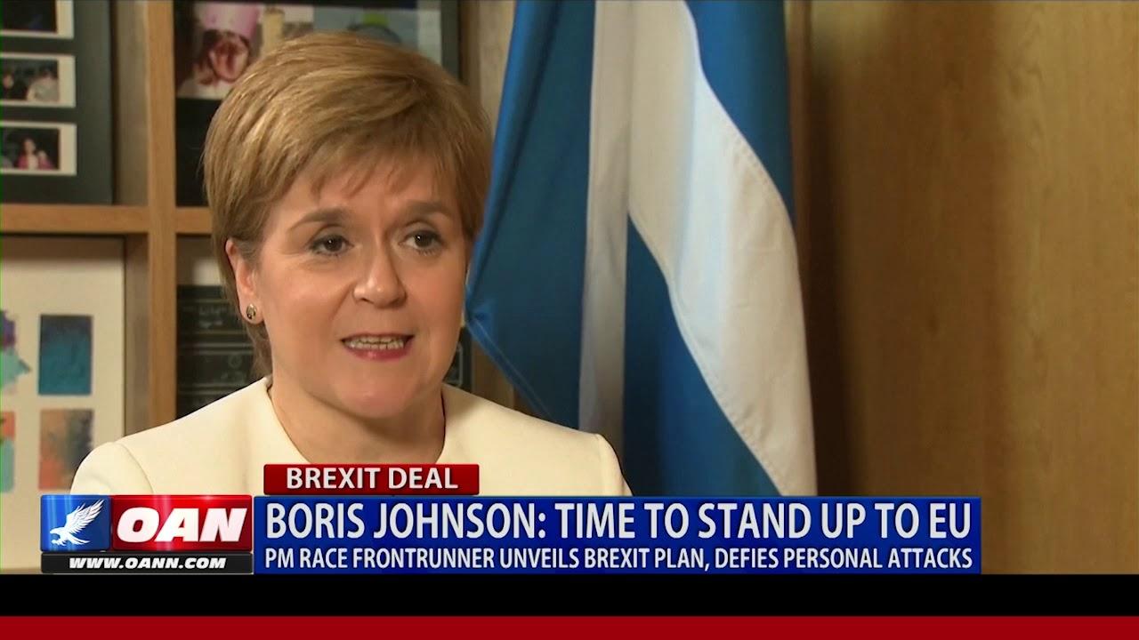 Boris Johnson: Time to stand up to EU