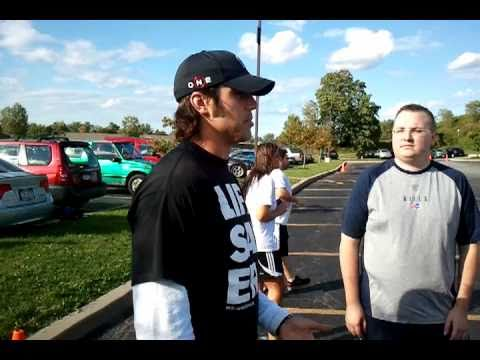 Bills QB and punter talk fitness and conduct clinic for VZW employees