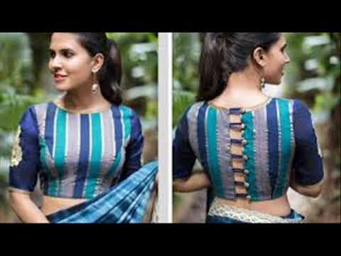 Boat Neck Blouse New Model Blouse 2019 How To Get Free Robux For