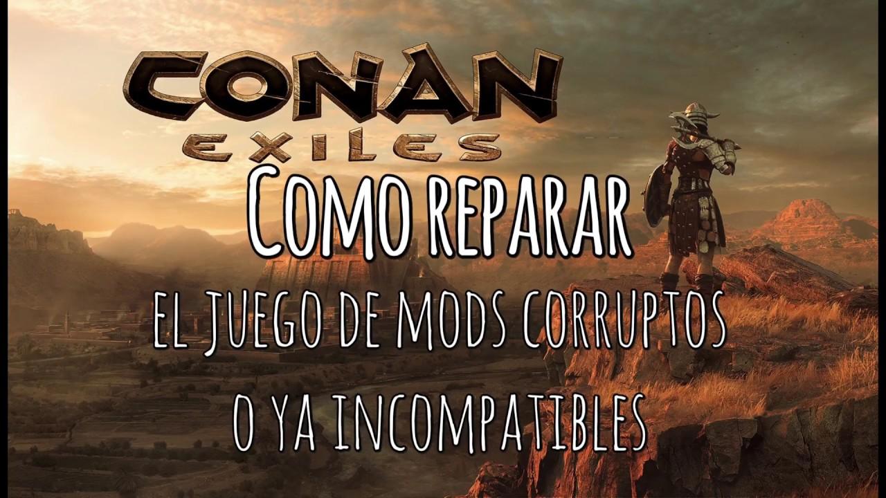 Conan Exiles Juego No Inicia Por Mods Corruptos  Gs Media 03:13 HD