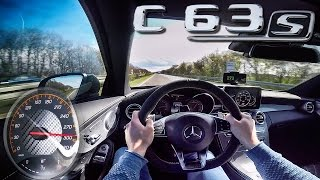 Mercedes AMG C63 S Coupe Edition1 TOP SPEED & ACCELERATION by AutoTopNL