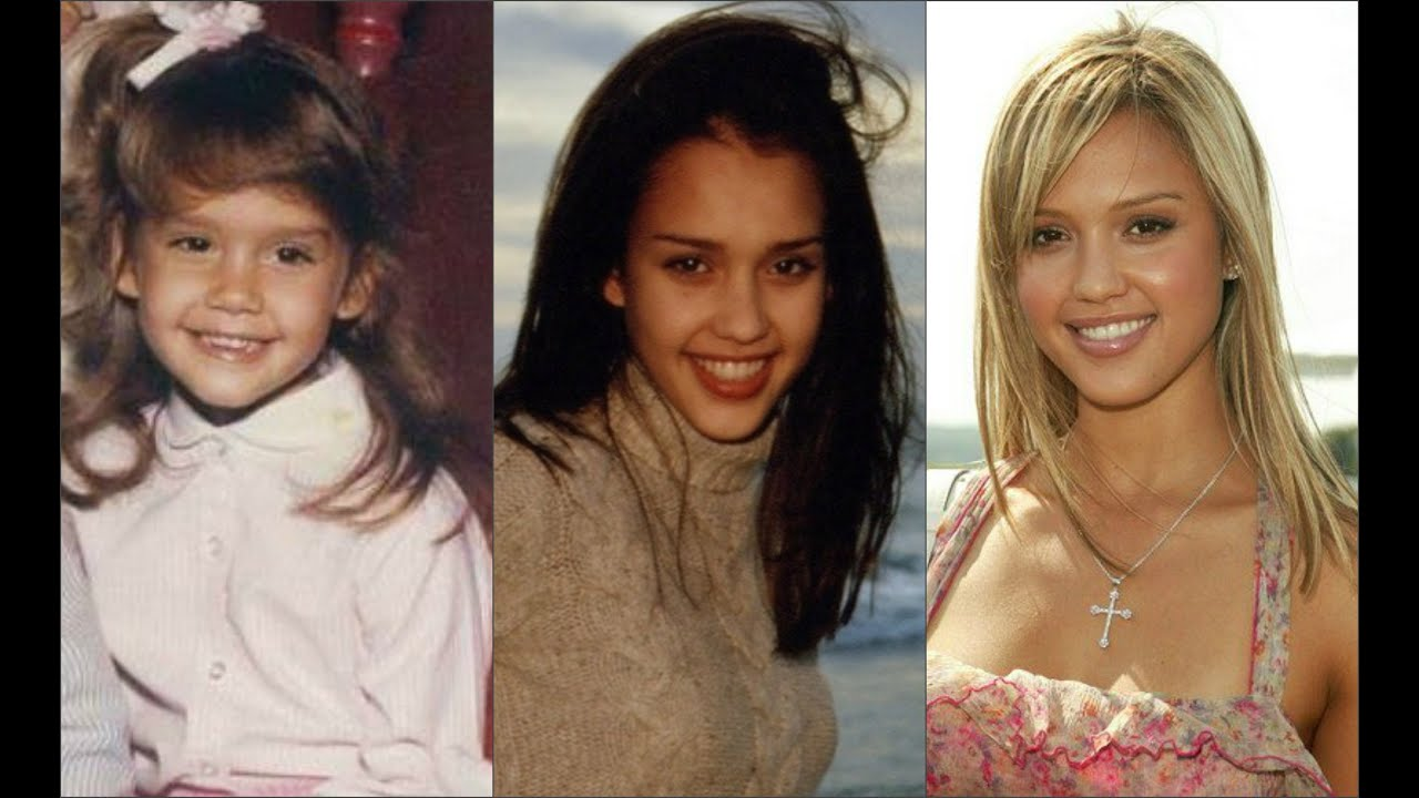 Jessica Alba  A life in pictures  YouTube