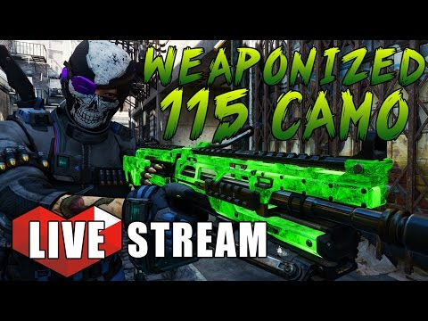 Black Ops 3 - ST.PATRICKS DAY HYPE! Weaponized 115 Camo ALL WEAPONS! - BO3 Multiplayer Livestream