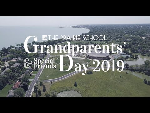 Grandparents Day at The Prairie School