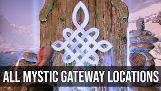 All Mystic Gateway Locations - God of War (2018)