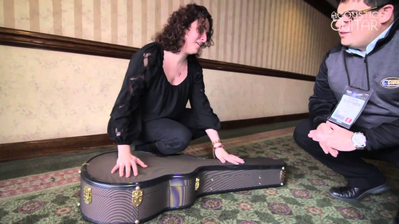 d700bc7414b Ameritage Cases at Winter NAMM 2013 from Acoustic Guitar - YouTube