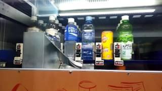 코레일 미니 카페 무인편의점 자판기 작동 영상