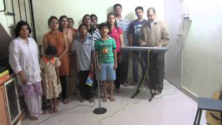 Indian National Anthem by Students of JP
