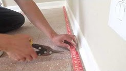 How to install carpet tack strip carpettoolz.com