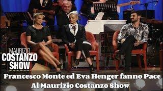 Francesco Monte ed Eva Henger fanno Pace al Maurizio Costanzo Show