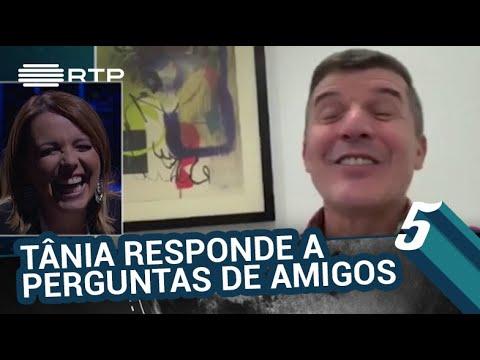 Tânia Ribas de Oliveira responde a perguntas de João Baião, Sandra Felgueiras e Maria Leal