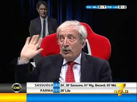 Diretta Stadio 7Gold FIORENTINA MILAN 2-1 Crudeli piange al goal di Joaquin